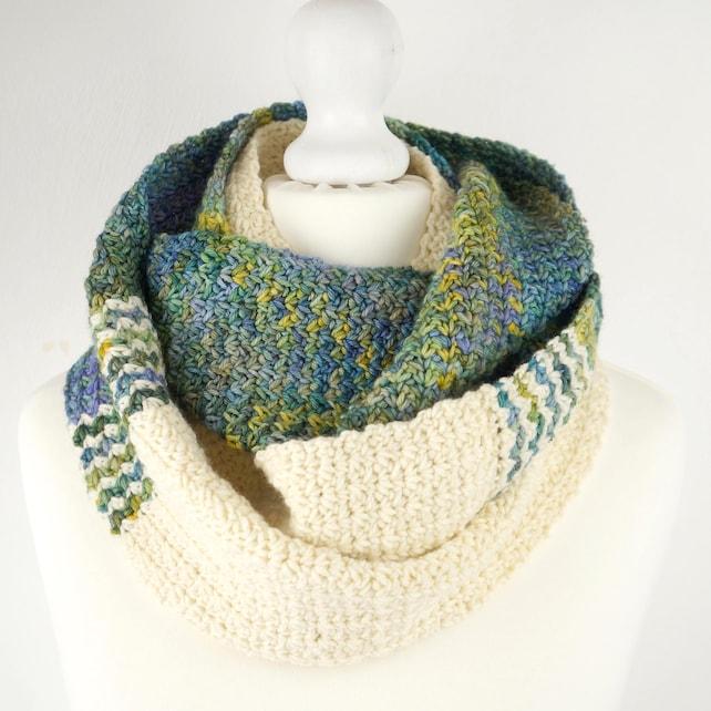 Crochet Pattern Infinity Scarf Circle Scarf Loop Scarf Wrap   Etsy