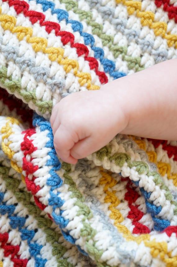Afghanischen Häkelanleitungen Babydecke hausgemachte