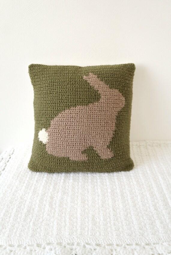 Ostern häkeln Häkelmuster Kaninchen Kissen Bunny Kissen | Etsy