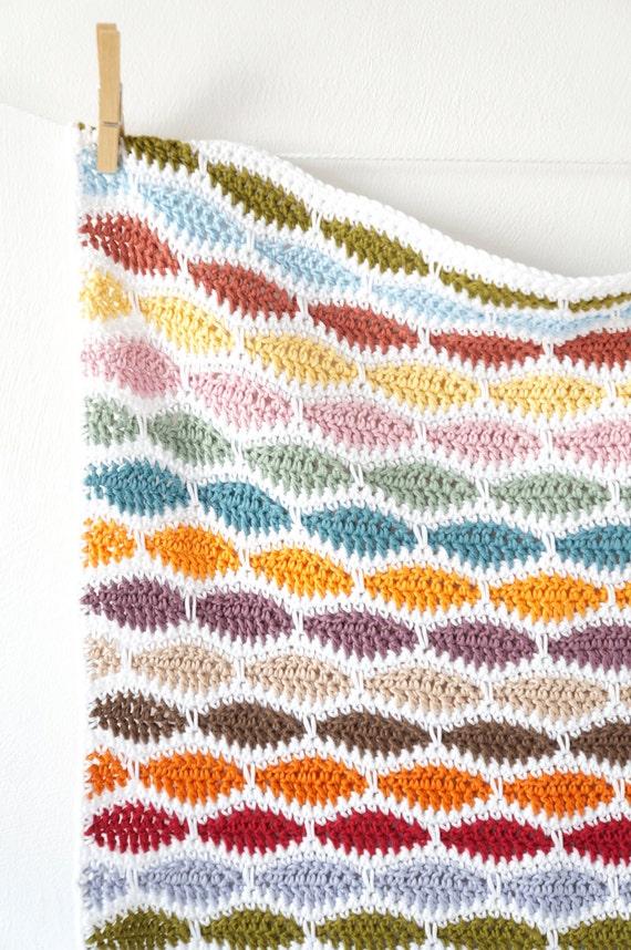 Häkeln Decke Muster einfach häkeln Anfänger Muster für | Etsy
