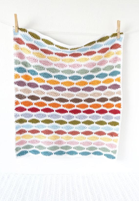Häkeln Decke Muster Einfach Häkeln Anfänger Muster Für Etsy