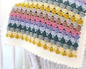 Crochet Pattern Blanket, Sweet Dreams Blanket, Baby Afghan, Pattern for Crochet, Modern Crochet, Lap Blanket, Afghan, Easy Crochet Pattern