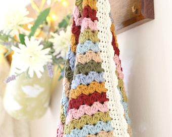 Blanket Crochet Pattern, Striped Blanket, Crochet Afghan, Lap Blanket, Little Doolally, Baby Blanket,Farmhouse Decor,Nursery Crochet Blanket
