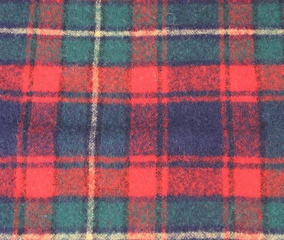 Vintage Pendleton Plaid Tartan Wool Scarf - image 3