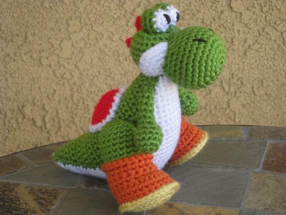 Amigurumi Dinosaur Yoshi Crochet Free Pattern - Amigurumi Free ... | 428x570