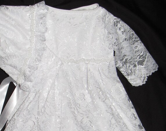Christening gowns , - Christening and monogrammed dress for little ...