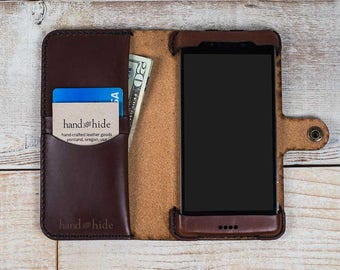 cbd6aa9c109 Galaxy Note 5 Leather Wallet Case
