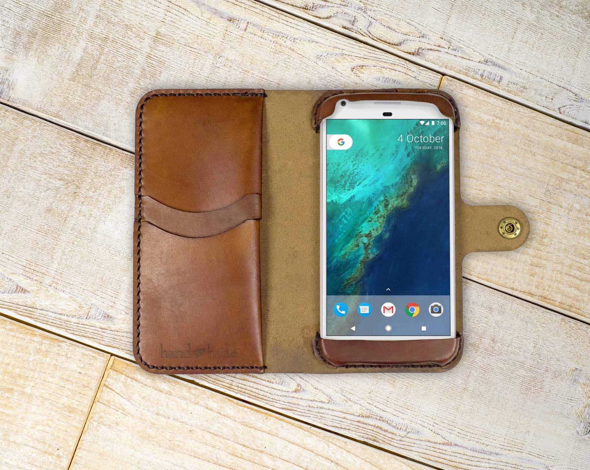 c87753babb97 Google Pixel Leather Wallet Case, Google pixel wallet, pixel case, google  pixel wristlet, pixel wallet, custom pixel case