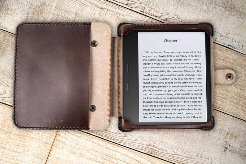 timeless design df571 4619d Kindle Oasis 3 leather flex case, Oasis 2 convertible case, handmade oasis  2017-2019 case, leather kindle case, custom kindle oasis 3 case