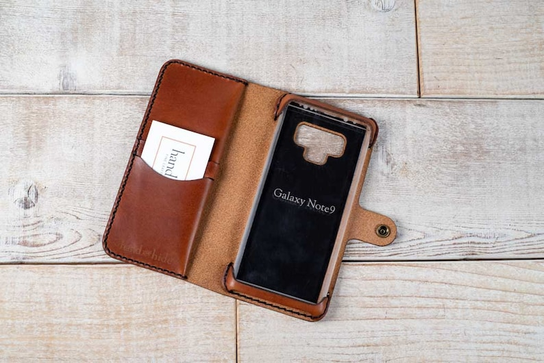pretty nice 64ee7 43f56 Galaxy Note 9 Leather Wallet Case, samsung galaxy note 9 case, note9  wallet, phone case wallet, leather phone case, leather note 9 case
