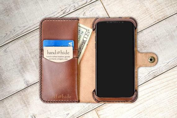 separation shoes c5052 6b41d OnePlus 6 Leather Wallet Case, oneplus 6 case, oneplus 6 wallet case,  leather phone case, custom phone case