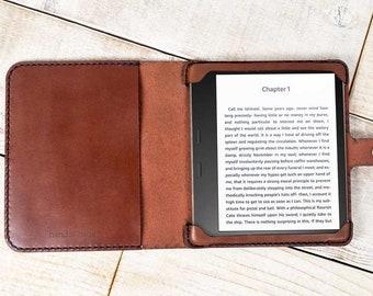 Kindle Oasis 3 (10th gen) leather case, Oasis 2 (9th gen) case, tablet case, handmade Oasis 2017-2019 case, custom leather Kindle case