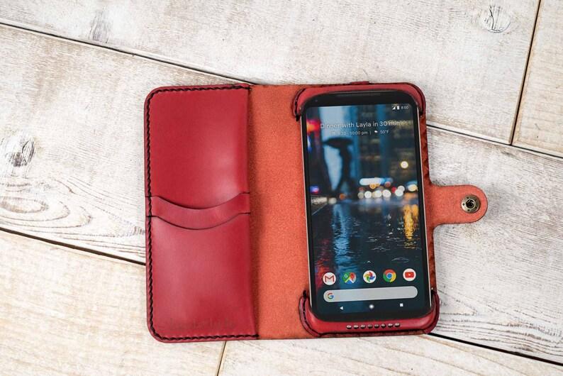 c6f62197161b Google Pixel 2 XL Leather Phone Wallet Case, Google pixel 2 XL wallet,  pixel 2 XL case, google pixel 2 xl wristlet, custom pixel 2 xl