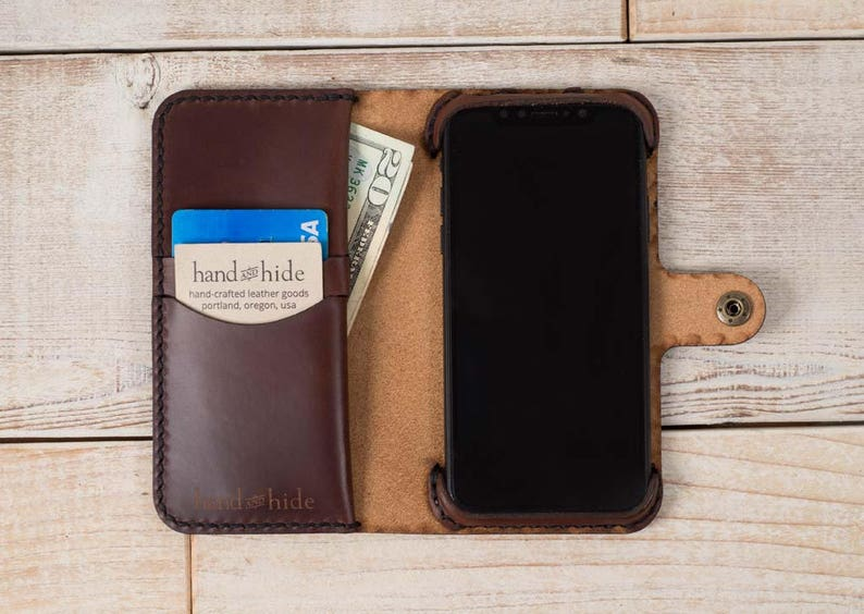 iphone xs case leather wallet