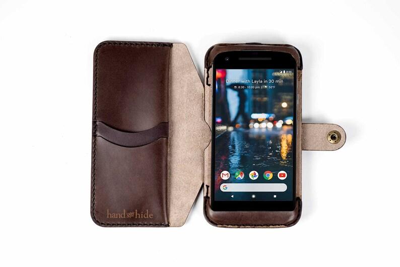 outlet store f2fdd 2c521 Pixel 2 Flex Wallet Phone Case, Google Pixel 2 case, pixel 2 wallet,  leather phone case, leather pixel 2 case, google pixel 2 phone wallet