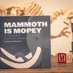 Mammoth is Mopey, Hardcover Alphabet Book | Childrens Dinosaur Book | Dinosaur Gift | Baby Gift | Childrens Science Book