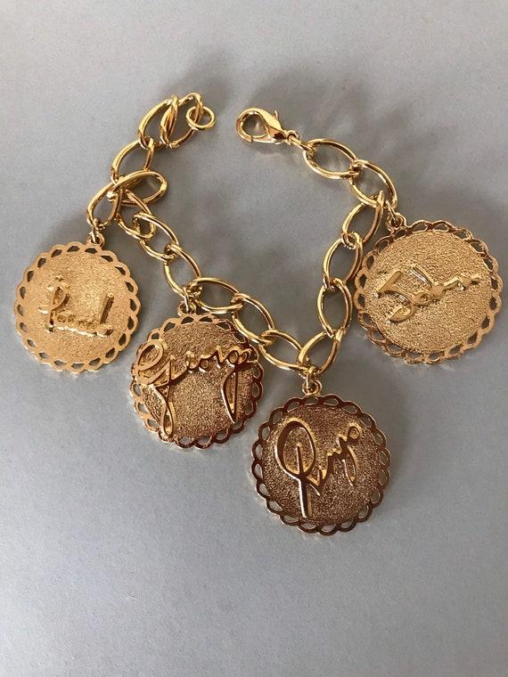 Vintage Beatles charm bracelet