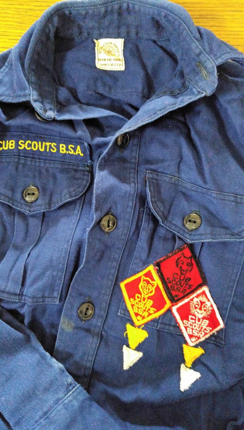1960s Cub scout uniform- children's uniform