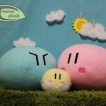 Two Medium and One small Clannad Dango Family Plushy, Manga Plush, Anime Pillow Cosplay Toy, Plushy Handmade Fiber or Fiber & Microbead mix