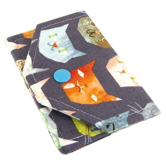 Titulaire De Carte Visite Personnalis Pour Les Femmes Joli Porte Cartes Tissu Business Card Holder