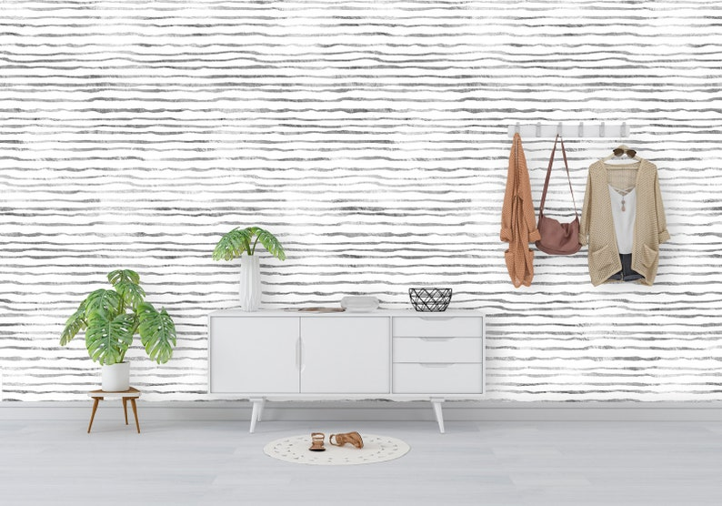 Self- Adhesive Fabric Outside The Lines Removable Wallpaper Peel and Stick Repositionable and Only the Highest Quality