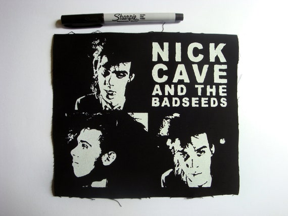 Hand Silk Screen Printed Patches Bad Seed