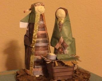 Paper Nativity