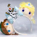 Frozen 2 Elsa Anna Olaf Arendelle Mickey Mouse Ears Headband