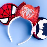 Marvel Spiderman Venom Mickey Mouse Ears Headband