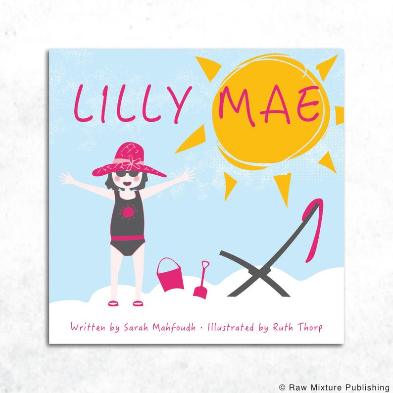 Lilly Mae rhyming picture book by Sarah Mahfoudh and Ruth image 0