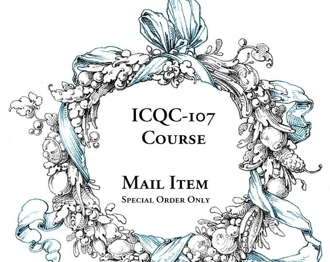 ICQC-107 Shabby Chic Course, Mail Item