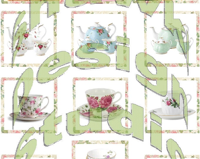 Silkie Images #10 - Tea Party
