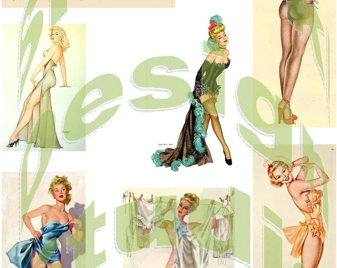 Silkie Images #7 - Pin Up Models