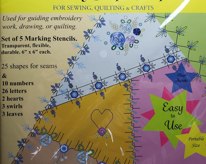 Embroidery Shape Templates - (KSS-301)
