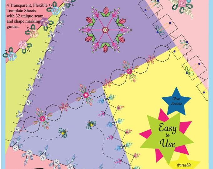 Embroidery Stitch Templates Mini - Set of 54 designs (KSS-202)