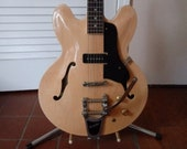 KING 39 ES 330 Electric Guitar, Custom built P-90 pickup and Bigsby vibrato , Gorgeous