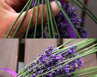 ON VACATION, Rustic Decor Organic Lavender Wand  Lavender Wedding Gift for Bride Lavender Dried Flowers Wedding Gift Wedding wand
