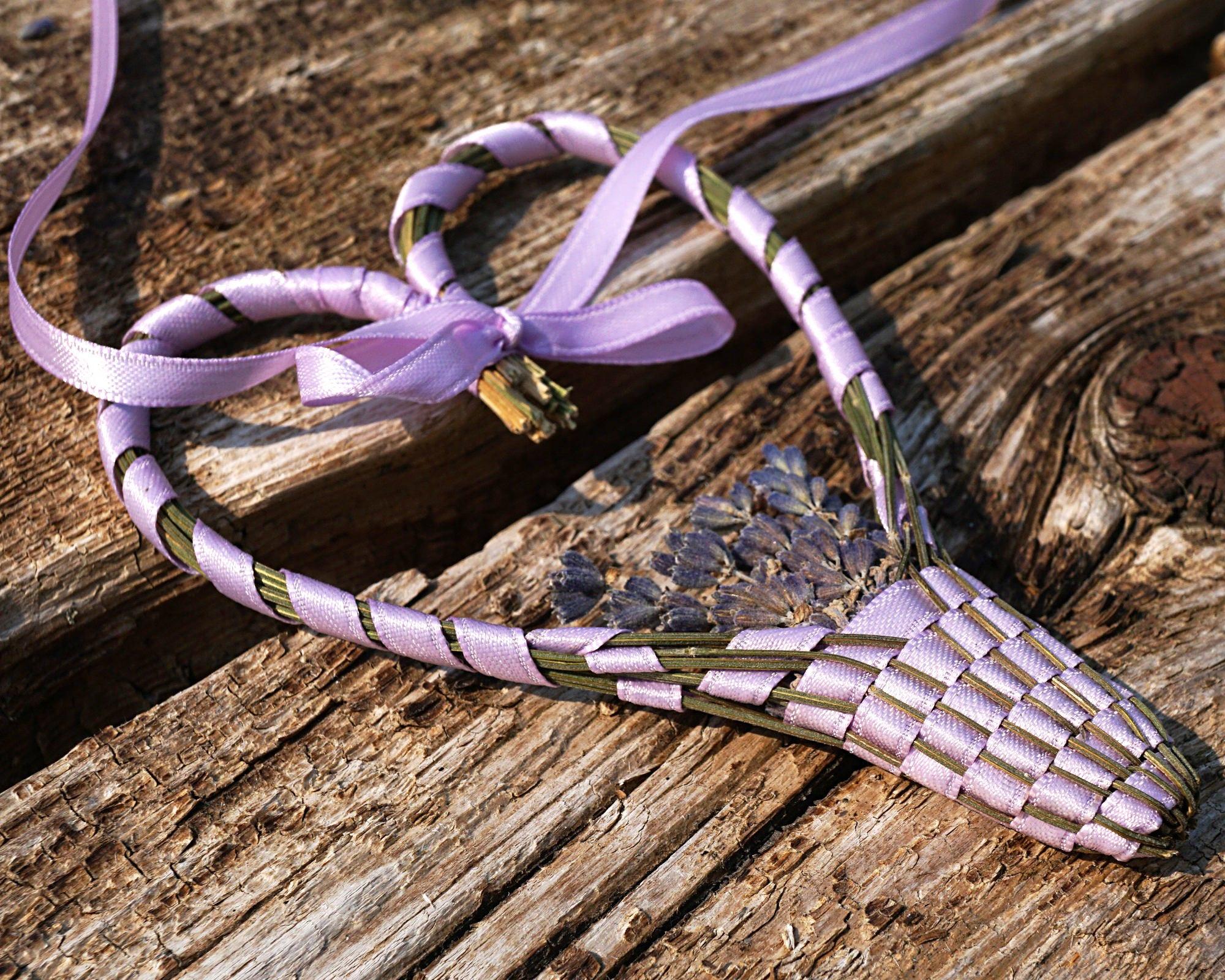 Herbst Dekor Lavendel Korb Herz Bio Lavendel Zauberstab meiner | Etsy