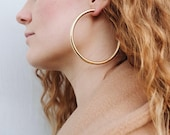 Oversized Thick Hoops