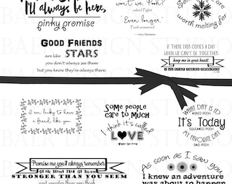 word art clipart printable quotes friendship quotes digital watermark overlay photo overlays best friend quotes 14173