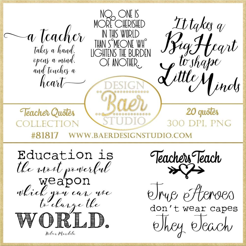 It is an image of Intrepid Printable Teacher Quotes
