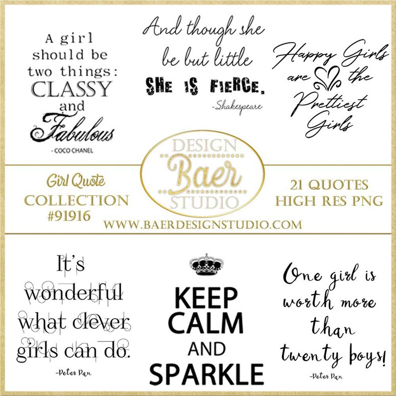 Girl Quotes Inspirational Quotes about Girls Little Girl | Etsy