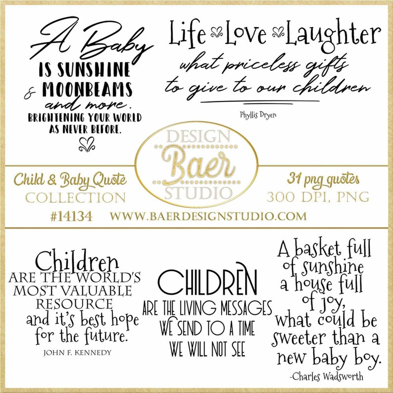 Inspirational Quotes Baby Quotes Children Quotes Parenting Etsy