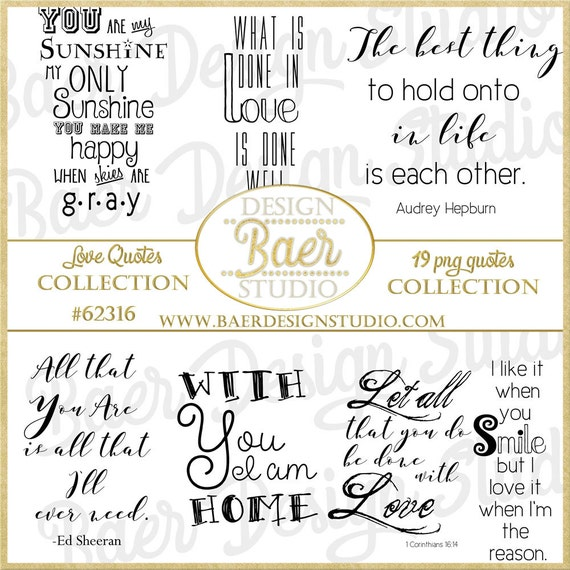 Love Quotes Love Word Art Wedding Quotes Bible Journaling Etsy