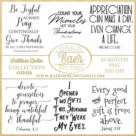 thankful verses grateful
