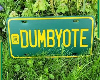 COYOTE license plate - CUSTOM colors vanity plates - Coyote, Nuwisha, Yote, Dumb Yote, Fursona Swag