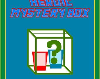 SMALL  HEROIC Mystery Box - superheroes inside!