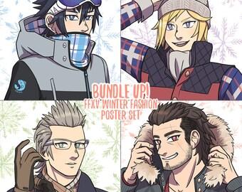 Bundle Up! FFXV Posters
