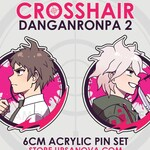 Danganronpa Crosshair Pin Set