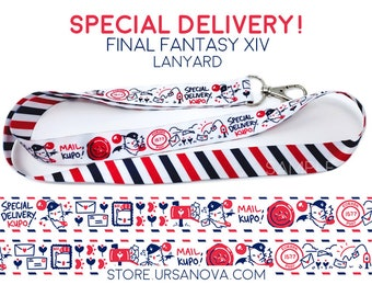 Special Delivery! FFXIV Lanyard
